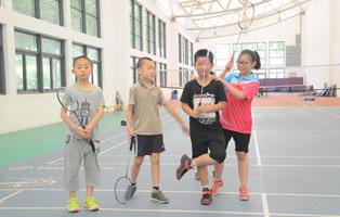 「上海体育」2020拼搏体育羽毛球夏令营(14天)