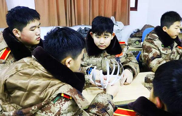 「上海军事」2022虹狼西点少年先锋军官成长冬令营(7天) 逆境成长 · 保持向上