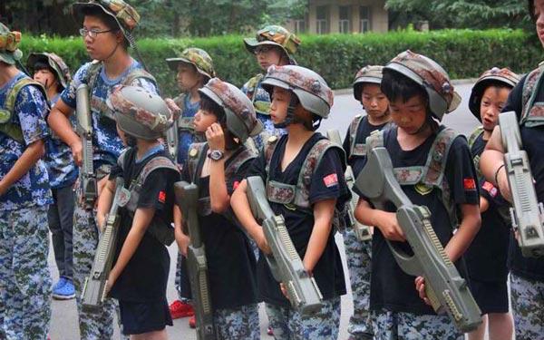 北京西點軍事--參加軍事冬令營的訓練目標!