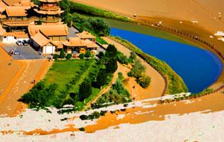 「甘肃研学」2020丝绸之路-从青海湖到敦煌的人文之旅夏令营(8天)