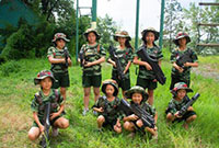 參加兒童軍事夏令營的好處以及安全保障!