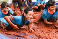 抚仙湖国际户外营地泥泞跑开始了!