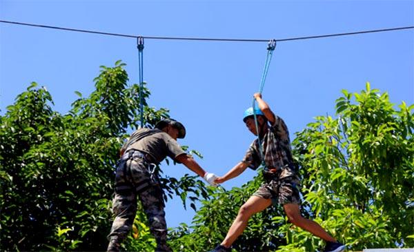 暑假貴州夏令營去哪里好,自強軍事夏令營等你來!