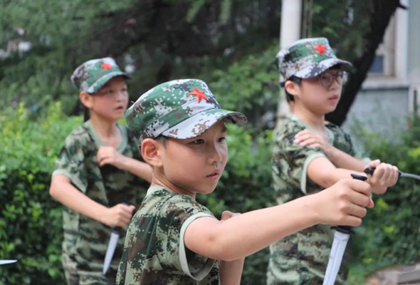 """2021""""我是小小兵""""军事体验夏令营 (4天)"""