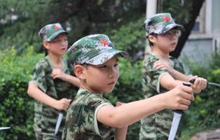 """「河北军事」2021""""我是小小兵""""军事体验夏令营 (4天)"""