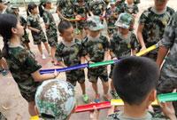 广西黄埔少年10天军事夏令营课程安排!
