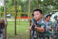 广西黄埔少年军事夏令营—不怕苦,不怕累的小战士!