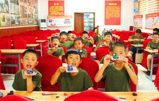 「天津军事」小小仪仗兵2天军事周末营