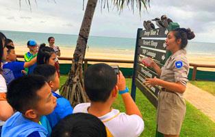 「澳大利亚游学」名校全真插班课程一对一语伴+生态实训营(14天)