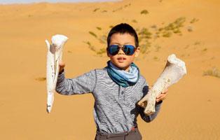 """「内蒙古沙漠」2021营地产品之""""综合体验""""夏令营(5天)丨探索地球的1/4,7大课程边玩边学亲子"""