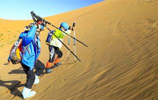 """「内蒙古沙漠」2021营地产品之""""毅行徒步""""夏令营(5天)丨少年不止步,用行走丈量世界"""
