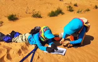 """「内蒙古沙漠」2021营地产品之""""荒野生存""""夏令营(5天)丨生存游戏,少年与他的沙漠探险亲子"""