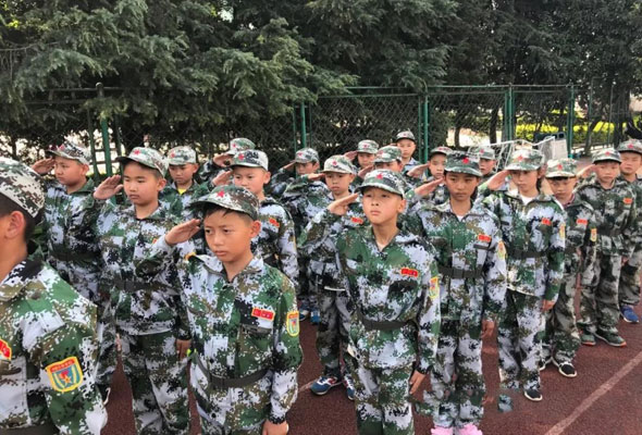 2021昆明快乐少年蜕变军事夏令营(30天)