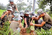 高中生军事励志夏令营,提升精英素质