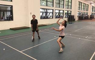 「上海体育」2020拼搏体育羽毛球夏令营(21天)