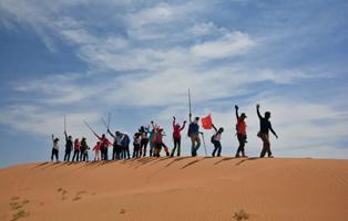 「宁夏沙漠」2020国庆亲子&单飞营(4天)|腾格里·大漠征途