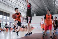 上海暑假篮球夏令营,运动中挥散汗水
