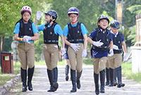 上海松声马术夏令营课程安排?