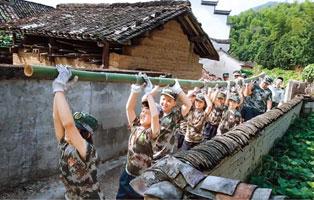 「安徽军事」2021王牌陆军夏令营(7天)| 运输弹药+真人CS+绝地反击+勇渡赤水+奇袭司令部