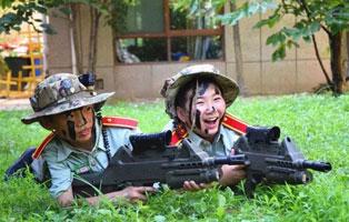 「安徽学能」2021海军陆战队夏令营(5天)| 蛟龙战队+真人CS+划艇激战+武装泅渡+抢滩登陆