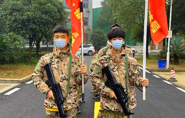 「湖南军事」2022长沙铁血猎人冬令营(7天)独立生存、军旅生活、勇士挑战