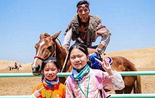 「内蒙古沙漠」2021小小巴特尔夏令营(8天)  我和草原有个约定