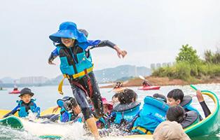 「浙江美式」2021千岛湖皮划艇训练夏令营(6天)