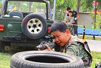 中國少年預備役訓練營 好習慣成長21天軍事夏令營—王天煒