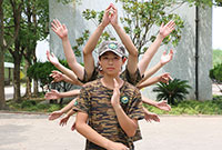 中國少年預備役訓練營—軍事夏令營帶你想感受軍校的生活