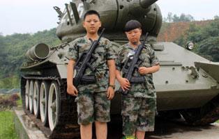 「西安军事」2020小学生军训夏令营(10天)